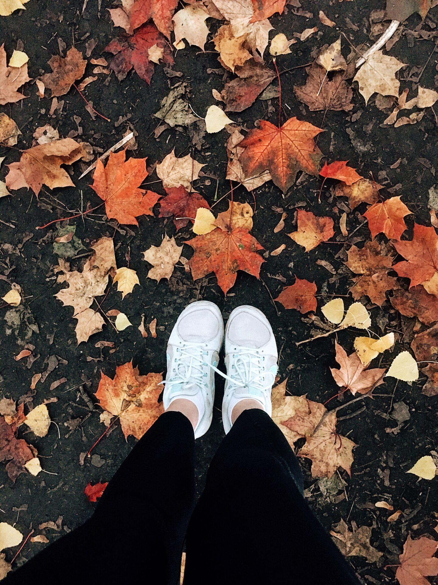 podzim běh